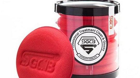 Aplicador de Espuma Para Cera Macio - SGCB