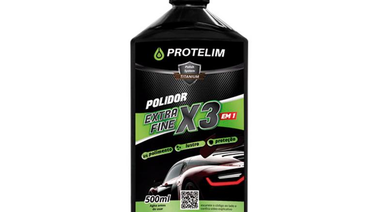Composto Polidor 3x1 500ml - Protelim