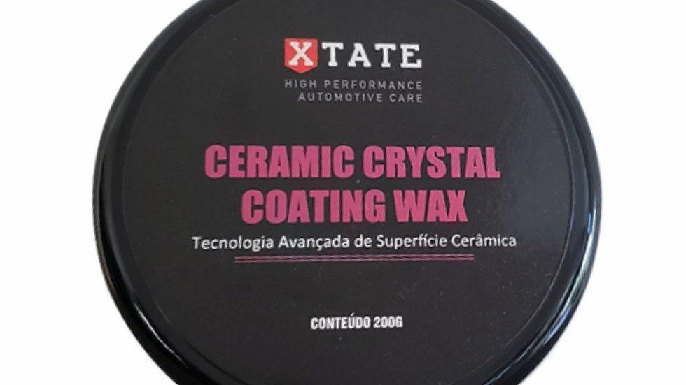 Cera em Pasta Ceramic Crystal Coating Wax 200g - Xtate