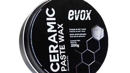 Cera a Base de Si02 Ceramic Paste Wax 200g - Evox