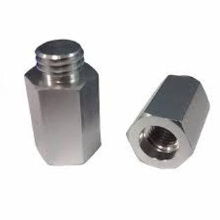 Adaptador/ Alongador Para Politriz 4 Centímetros M14 Para 5/8 (Nobre Car)