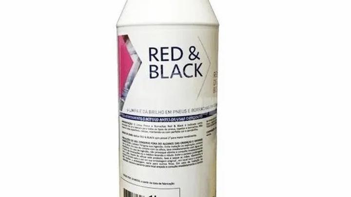 Red & black Renovador de Pneu 1L - Jetstreet