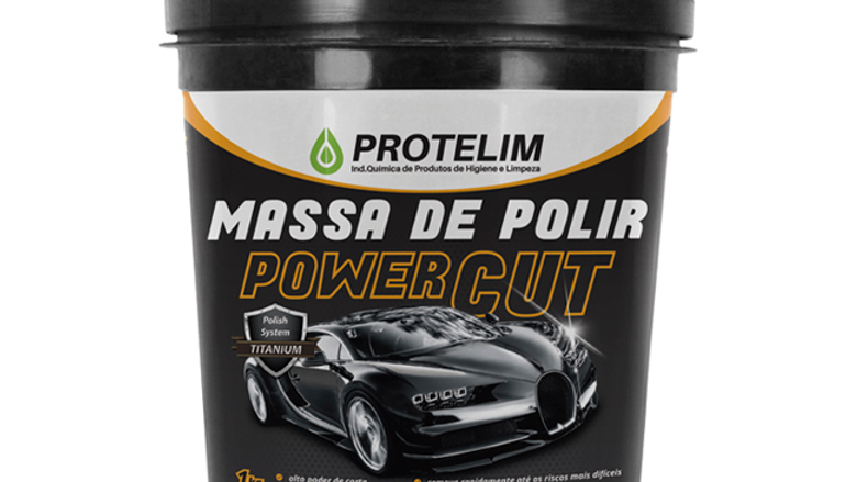 Massa de Polir Power Cut 1kg - Protelim