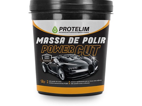 MASSA DE POLIR POWER CUT - 1KG - PROTELIM