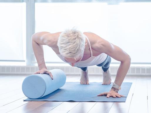 5 exercices de pilates avec le rouleau !