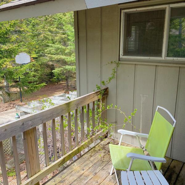 Master bedroom private patio