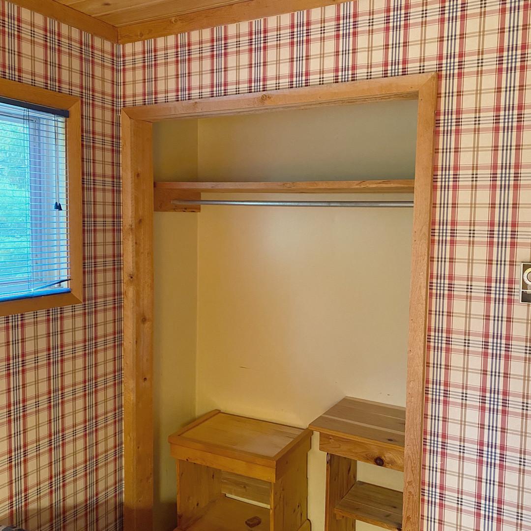 Guest bedroom #2 closet