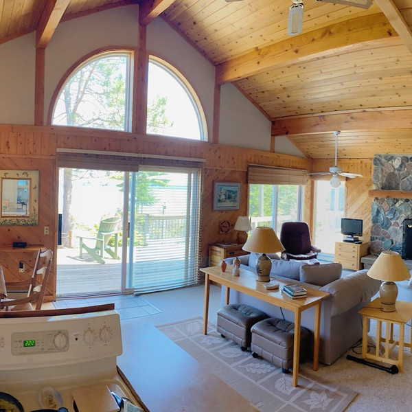 Inside cottage view