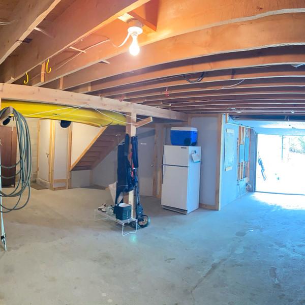 Sizeable garage