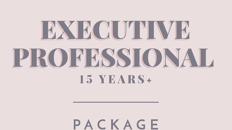 Executive Professional | Package