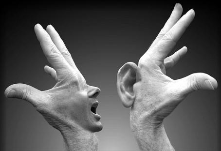 Secondo me non sai ascoltare bene l'altro!