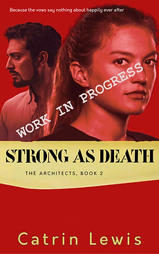 Strong as Death cover, website placehold