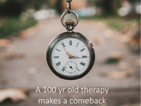 A 100 yr old therapy makes a comeback as a treatment for Covid19
