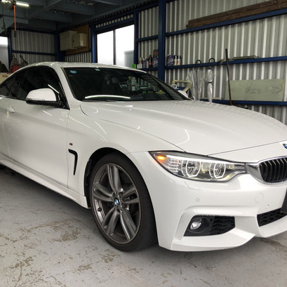BMW F32 435i BCレーシング車高調取付