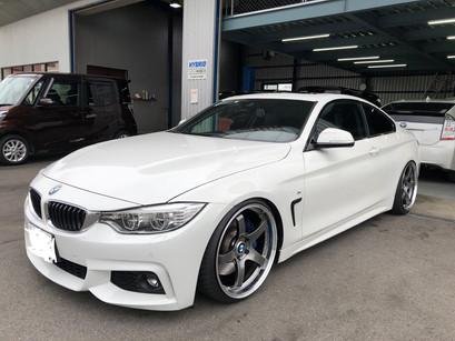 BMW 435i Mスポーツ 車高調 BCレーシング ワイドタレットスペーサー IID H&R