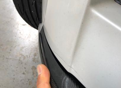 BMW E89Z4 持込社外リップ・グリル取付