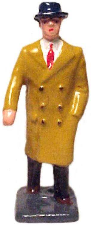 #1065 MAN IN OVER COAT
