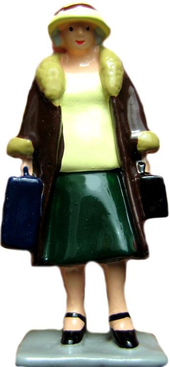 #1448 - Lady w/ Luggage