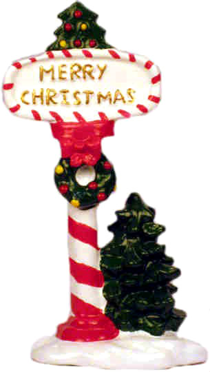 #GB-26: Merry Christmas Sign