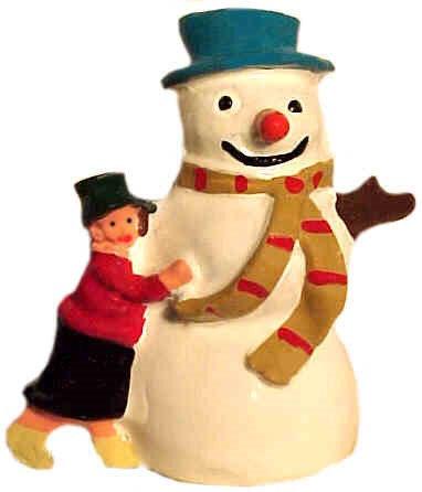 #1340 Hugging Snowman