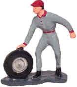 #1044 Mechanic Rolling Tire