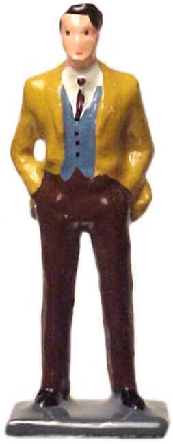 #1196 - Man In Vest