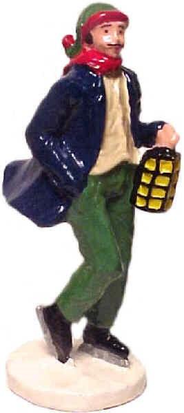#446 - Man Skater w/ Lantern