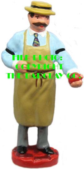 #4106 - Market Man w/ Apple