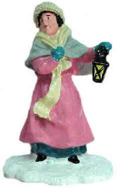 #4107 - Lady w/ Lantern