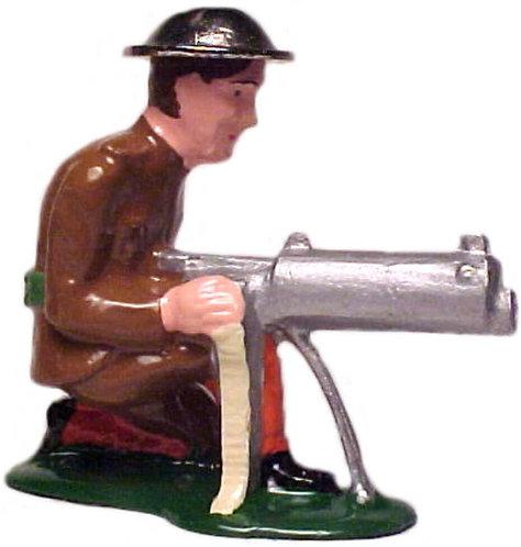 #702a - Machine Gunner Kneeling, Early Version