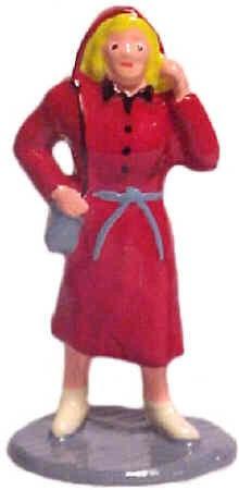 #1092 Lady In Raincoat