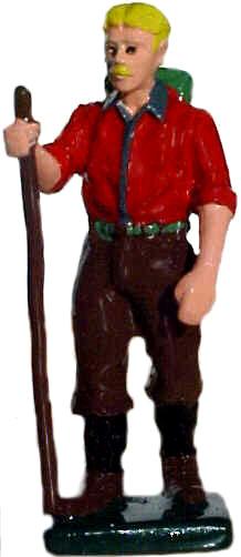 #1361 Man Hiker