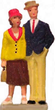 #1193 - 1920's Couple