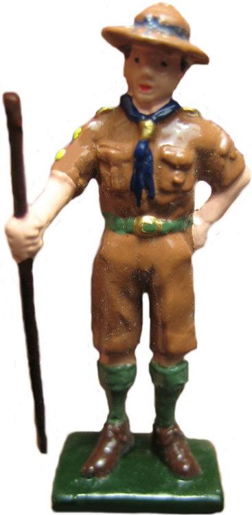 #1395 Boy Scout w/ Staff