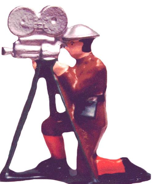 #674 - Newsreel Camera-Man