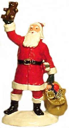 #4116 - Santa Waving Teddy Bear