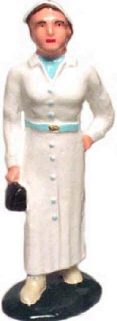 #744a - Nurse, White