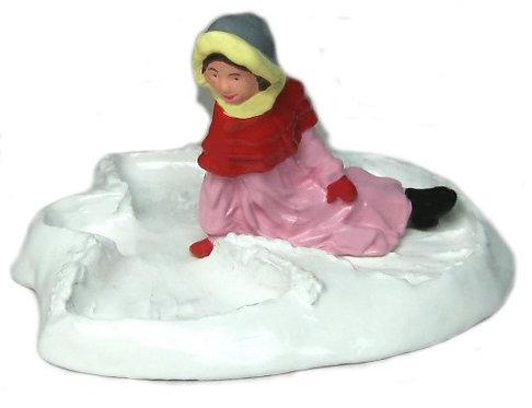 #4188 - Girl Making Snow Angel