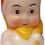 "Thumbnail: #BC-004 - Old Time ""Milk Glass"" Christmas Light - Kewpie Elf"