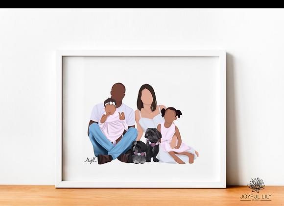 Digital Family Artwork