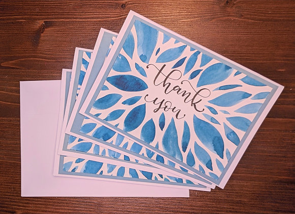"""""""Thank You"""" Greeting Card- 4 pack"""
