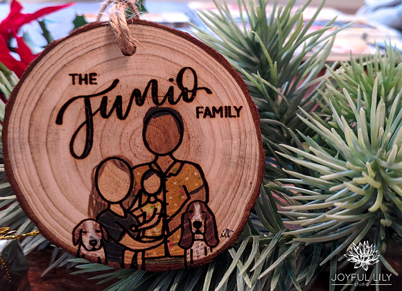 Custom Family Ornament