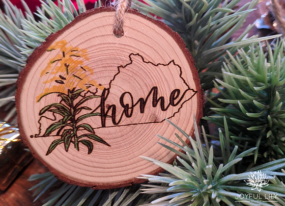 """Home"" State Ornament"