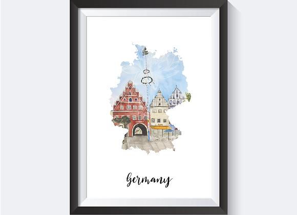 Local Germany Prints