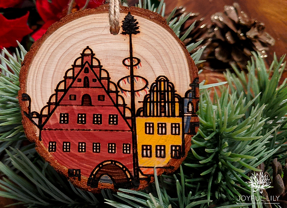 Weiden City Ornament