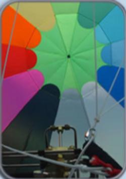 Rainbow In Balloon