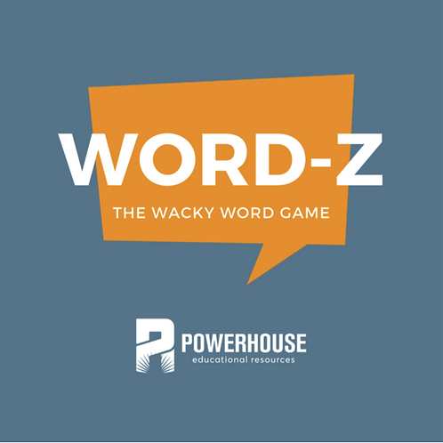 WORD-Z The Wacky Word Game