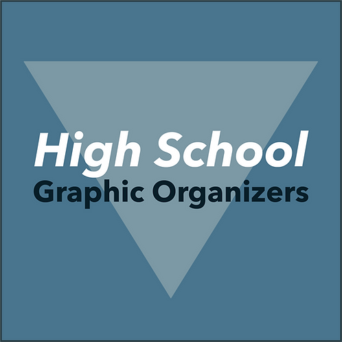Graphic Organizers for High School Essays
