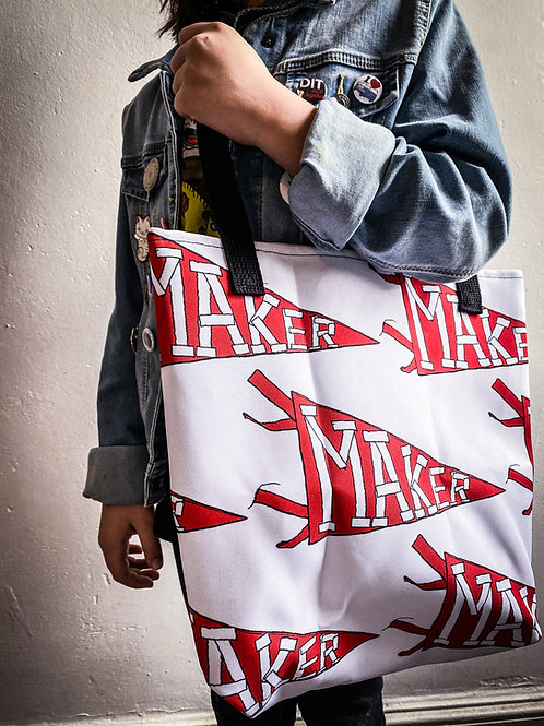 Maker Pennant Tote