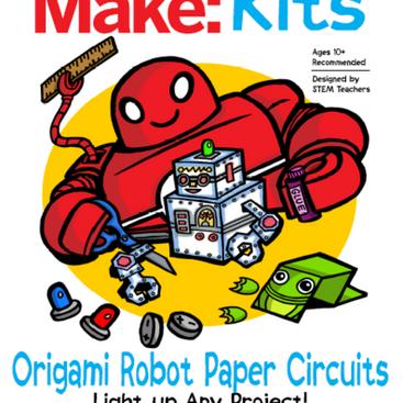 KIT: Origami Robot Paper Circuits